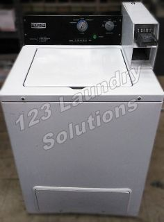 Heavy Duty Maytag Top Load Commercial Washer 120v 60Hz 8.0 Amps Used