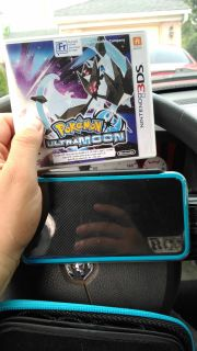 2ds XL with pokemom ultra moon