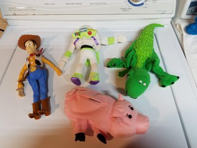 Toy story puppets