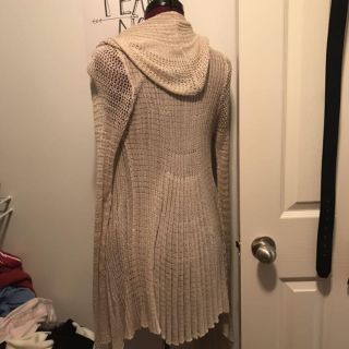 Knit sweater maternity pea in the pod