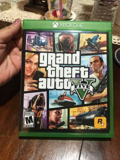 Xbox one grand theft auto five $10 firm