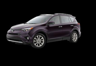 2018 Toyota RAV4 Limited (Black Currant Metallic)