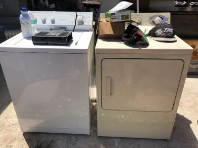 Washer and dryer $50 each