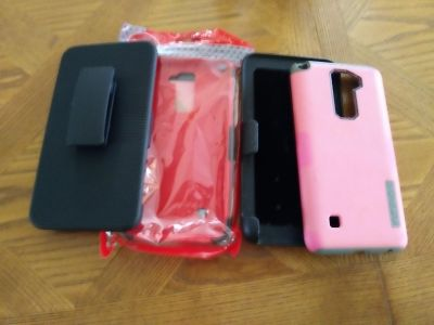 2 lg stylo cases with belt clip