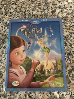 NEW Tinkerbell and the Great Fairy Rescue Blu Ray and DVD