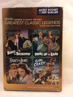 Mickey Rooney & Judy Garland DVD Collection