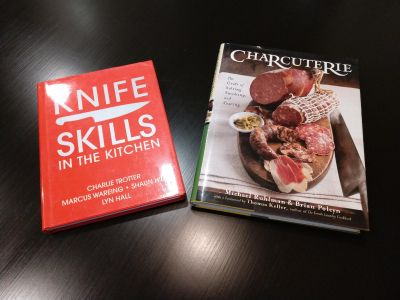 Culinary books - Knife Skills and Charcuterie