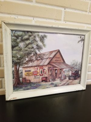 Farmhouse picture wood frame