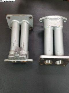 VW Zenith Carburetor Manifolds w/VW Logo
