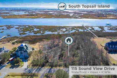 115 Sound View Drive Hampstead, This waterfront property in