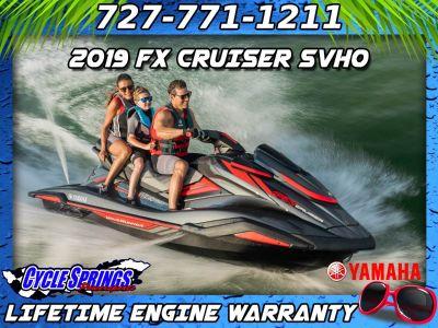 2019 Yamaha FX Cruiser SVHO 3 Person Watercraft Clearwater, FL