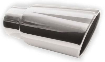 Purchase SILVERLINE EXHAUST Rolled Angle Tip 4 In. Id 5 In. Od 12 In. Overall motorcycle in McKinney, Texas, United States, for US $50.00
