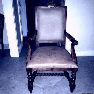 RALPH LAUREN LEATHER CHAIRS PAYED $14700