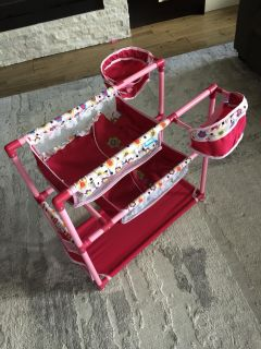 Kids bunk bed/change table for dolls