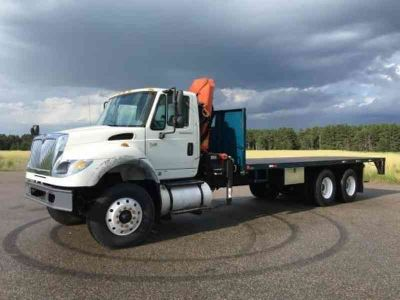 2007 International 7600 Flatbed