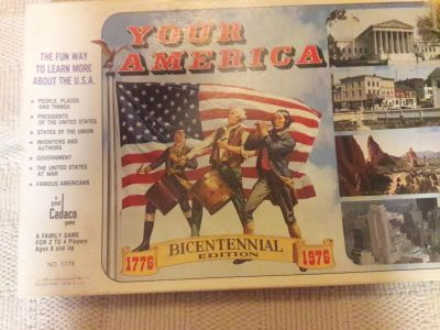 """Vintage Board Game """"Your America Bicentennial Edition"""""""
