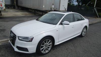 2014 Audi A4 2.0T quattro Premium Plus (Ibis White)