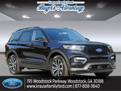 2020 Ford Explorer ST (Black Metallic)