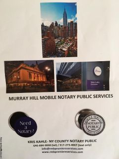 MURRAY HILL TRAVELING NOTARY & APOSTILLE SERVICES