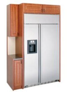 REDUCED GE SIDE BY-SIDE BUILT-IN REFRIGERATOR