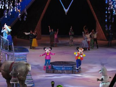 Disney On Ice Frozen Tickets at Baton Rouge River Center Arena on 05072015