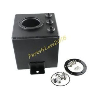 Sell BILLET ALUMINUM FUEL SURGE TANK AN6 FIT 044 FUEL PUMP 2L BLACK BEST SELLING motorcycle in Rowland Heights, California, United States, for US $51.00