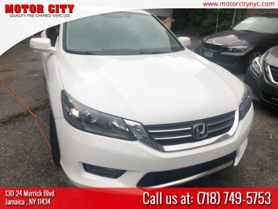 2015 Honda ACCORD SEDAN 4dr I4 CVT EX (White)