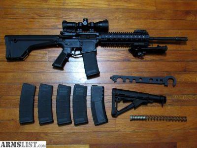 For Sale: FS/FT Custom AR-15, with extras, Geissele trigger, etc...