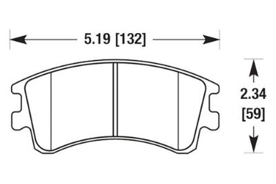 Purchase HAWK HB459Z.700 - 03-05 Mazda 6 Front Brake Pads Ceramic motorcycle in Chino, California, US, for US $83.93