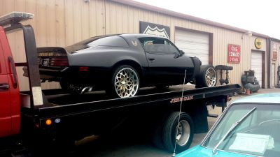 Custom Pontiac Trans Am Billet Wheels