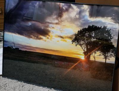 13x19 sunset framed wall decor