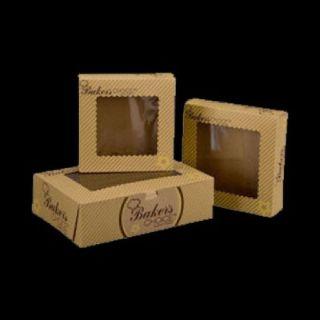 Get Custom Printed Brown Bakery Boxes