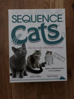 Sequence Cats Board Game