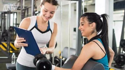 Hire a certified personal fitness trainer