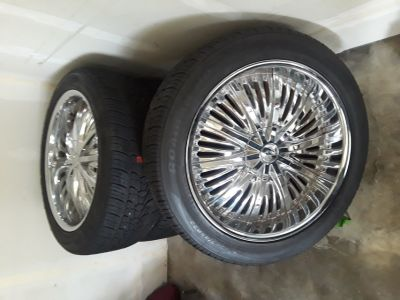 22inch Chrome Rims/Tires