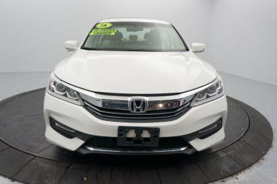 2016 Honda ACCORD SEDAN 4dr I4 CVT EX-L (White)