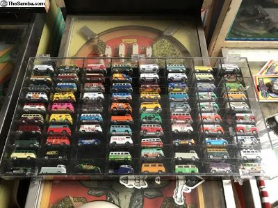 Diecast VW bus collection