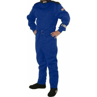 Sell G-FORCE 4145MEDBU GF145 Single Layer Driving Suit SFI 3.2A/1 Blue motorcycle in Delaware, Ohio, United States, for US $109.99