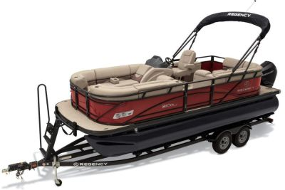 2019 Regency 210 DL3 Pontoon Boats Gaylord, MI