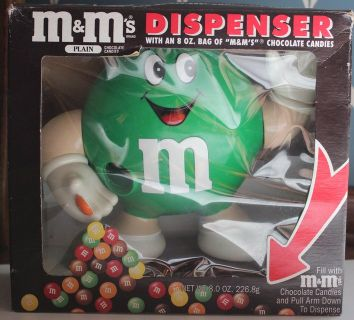 m & m's plain dispenser in original box
