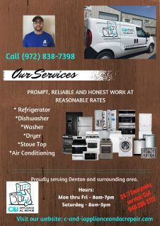 Appliance & AC Repairs