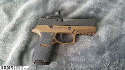 For Trade: Sig P320RXc w/add ons