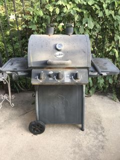 Char Griller gas grill.