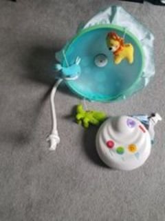 Fisher price 2 in 1 projector mobile