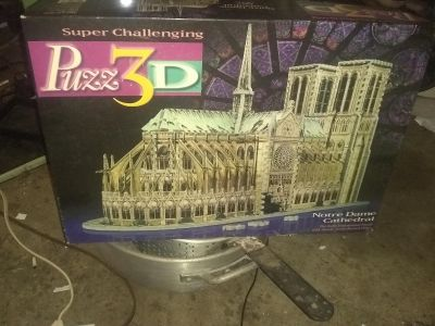 3 D puzzle Notre Dame cathedral