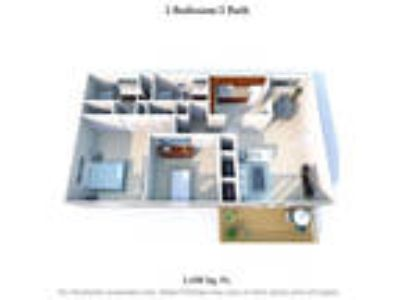 Knobs Pointe Apartments - Two BR Two BA A