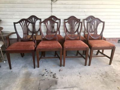 ( Antique Dining Chairs
