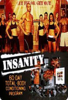 insanity workout dvds (set of 13)