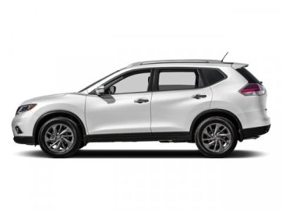 2016 Nissan Rogue S (Pearl White)