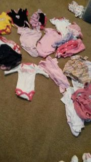 newborn 0-3 month and 3-6 month clothes